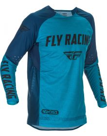 Fly Racing 2021 Evolution DST Jersey Blue/Navy