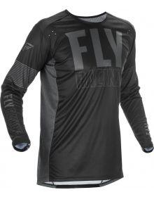 Fly Racing 2021 Lite Jersey Black/Grey