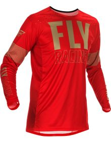 Fly Racing 2021 Lite Jersey Red/Khaki