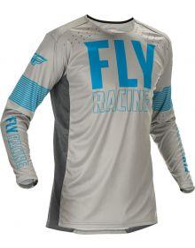 Fly Racing 2021 Lite Jersey Grey/Blue