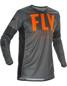 Fly Racing 2021 Lite Jersey Grey/Orange