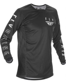 Fly Racing 2021 Kinetic K121 Jersey Black/White