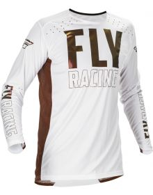Fly Racing 2021 Lite Copper LE Jersey White/Copper
