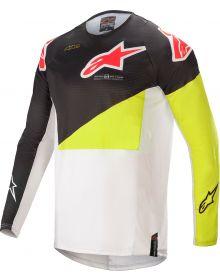 Alpinestars Techstar Factory Jersey Black/Yellow Flourecent/Off White