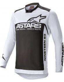 Alpinestars Racer Supermatic Jersey Light Gray/Black