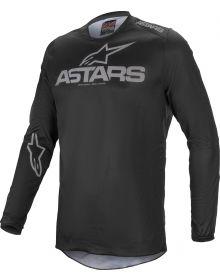 Alpinestars Fluid Graphite Jersey Black/Dark Gray