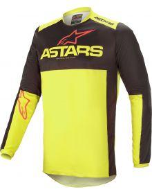 Alpinestars Fluid Tripple Jersey Black/Yellow Flourecent/Bright Red
