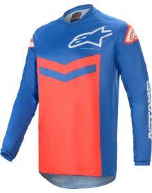 Alpinestars Fluid Speed Jersey Blue/Bright Red