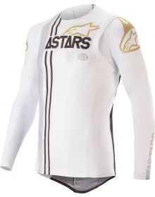 Alpinestars Supertech Squad 20 Limited Edition Jersey White/Silver/Gold