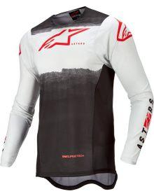 Alpinestars 2022 Supertech Foster Jersey White/Black/Fluo Red