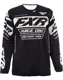 FXR Cold Cross RR Jersey Black