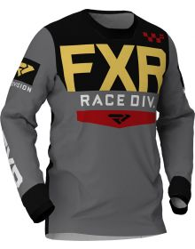 FXR 2020 Helium MX Jersey Charcoal/Rust/Gold