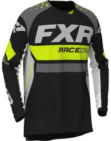 FXR 2020 Revo MX Jersey Hi Vis/Black/Charcoal/White