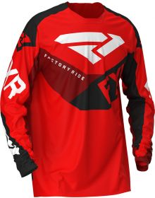 FXR 2020 Podium MX Jersey Red/Black/Maroon