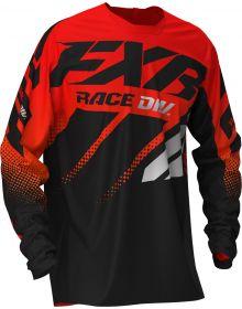 FXR 2020 Clutch MX Jersey Red/Orange/Black Fade