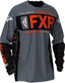 FXR 2020 Clutch Off-Road MX Jersey Steel/Black/Nuke