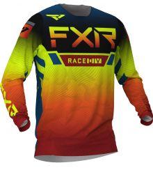 FXR 2020 Helium LE MX Jersey Slate/Black/Hi-Vis/Rust