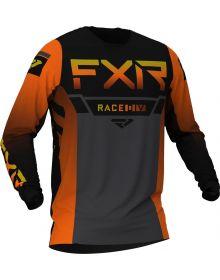 FXR 2021 Helium MX Jersey Inferno/Charcoal/Black