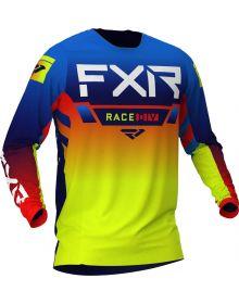 FXR 2021 Helium MX Jersey Yellow/Black/Red