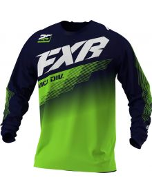 FXR 2021 Clutch MX Jersey Midnight/Lime