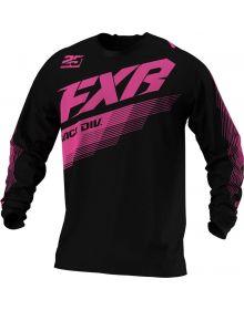 FXR 2021 Clutch MX Jersey Black/Pink