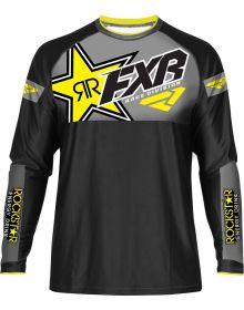 FXR Rockstar MX Jersey Black/Yellow