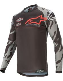 Alpinestars Racer Limited Edition Youth Jersey Black/Gray/Red