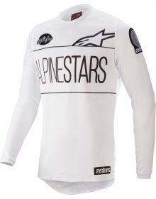 Alpinestars Racer Dialed21 LE Youth Jersey White/Black