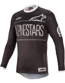 Alpinestars Racer Dialed21 LE Youth Jersey Black/White