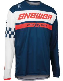 Answer Racing Youth A22 Arkon Octane Jersey Navy/White