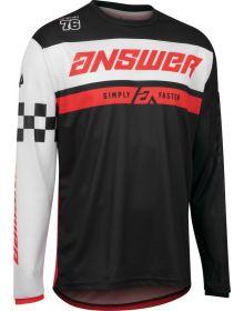 Answer Racing Youth A22 Arkon Octane Jersey Black/Red
