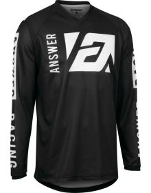 Answer Racing Youth Syncron Merge  Jersey Black/White