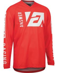 Answer Racing Youth Syncron Merge  Jersey Answer Red/White