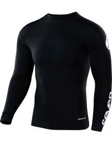 Seven Zero Staple Youth Compression Jersey Black