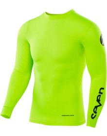 Seven 18.1 Zero Blade Youth Compression Jersey Flow Yellow