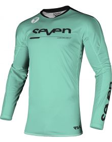 Seven Rival Rival Rampart Youth Jersey Black/Mint