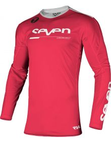 Seven Rival Rampart Youth Jersey Flo Red