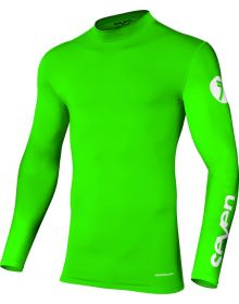 Seven Zero Compression Youth Jersey Flo Green