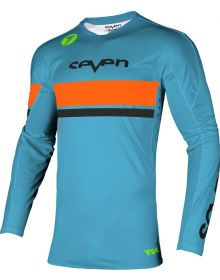 Seven Rival Vanquish Youth Jersey Cyan