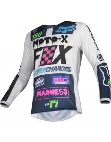 Fox Racing 2019 Youth Jersey 180 Czar Light Grey
