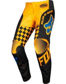 Fox Racing 2019 180 Czar Kids Pants Black/Yellow