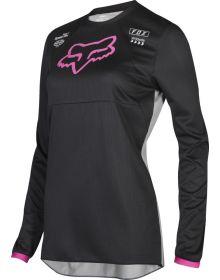 Fox Racing 2019 180 Kids Girls Jersey Mata Black/Pink