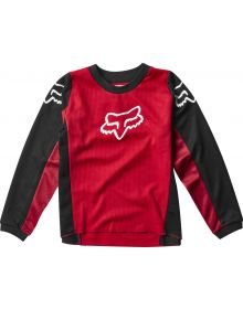 Fox Racing 2020 180 Prix Kids Jersey Flame Red