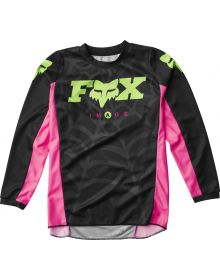Fox Racing 2020 LE Youth Venin 180 Jersey Black