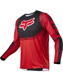 Fox Racing 360 Voke Youth Jersey Flo Red