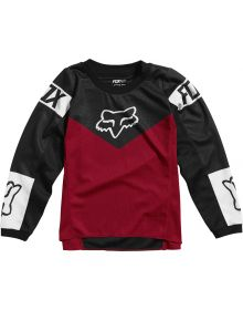 Fox Racing 180 Revn Kids Jersey Flame Red