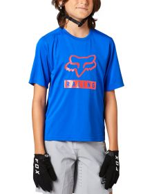 Fox Racing MTB Ranger Youth Jersey Blue