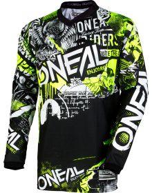 O'Neal 2020 Element Youth Jersey Attack Black/Hi-Viz