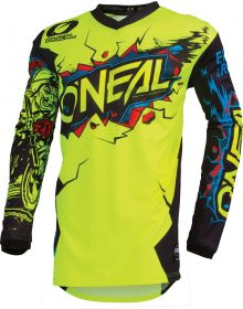 O'Neal Element Villain Youth Jersey Neon Yellow