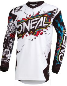 O'Neal Element Villain Youth Jersey White